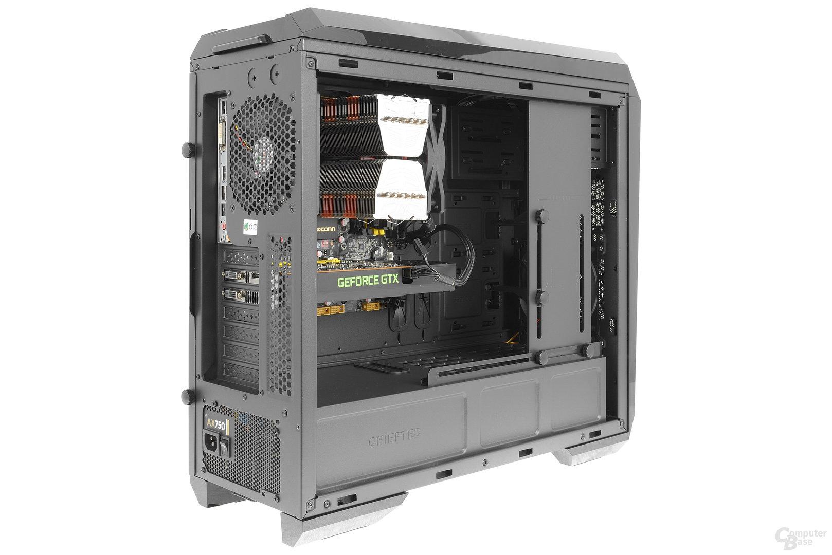 Chieftec GP-01B – Testsystem