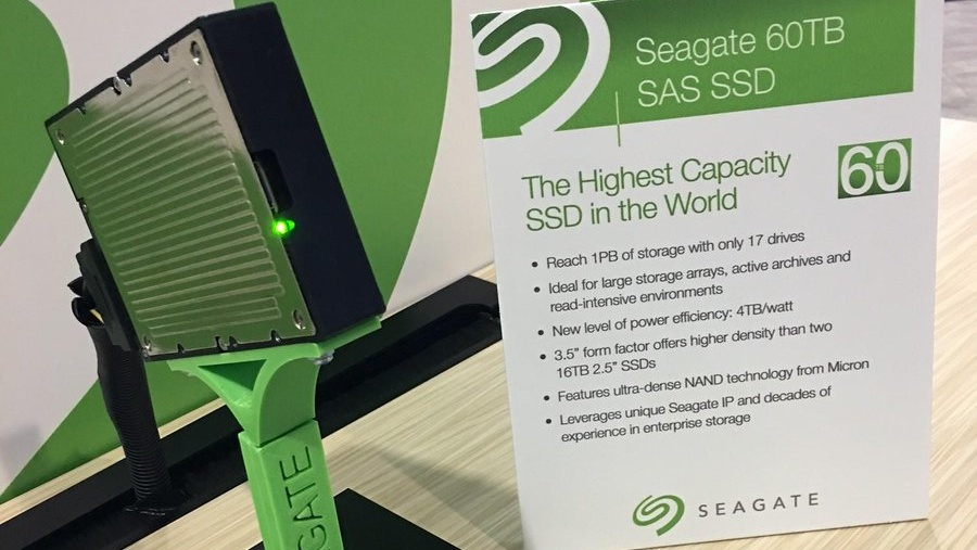 Seagate: Extreme SSDs mit 60Terabyte oder 10GByte/s