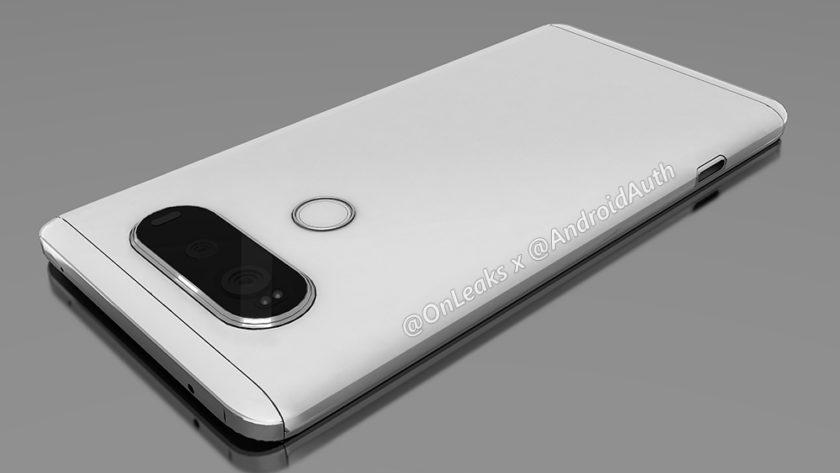 LG V20: Renderings, Maße und Hinweis auf Modularität