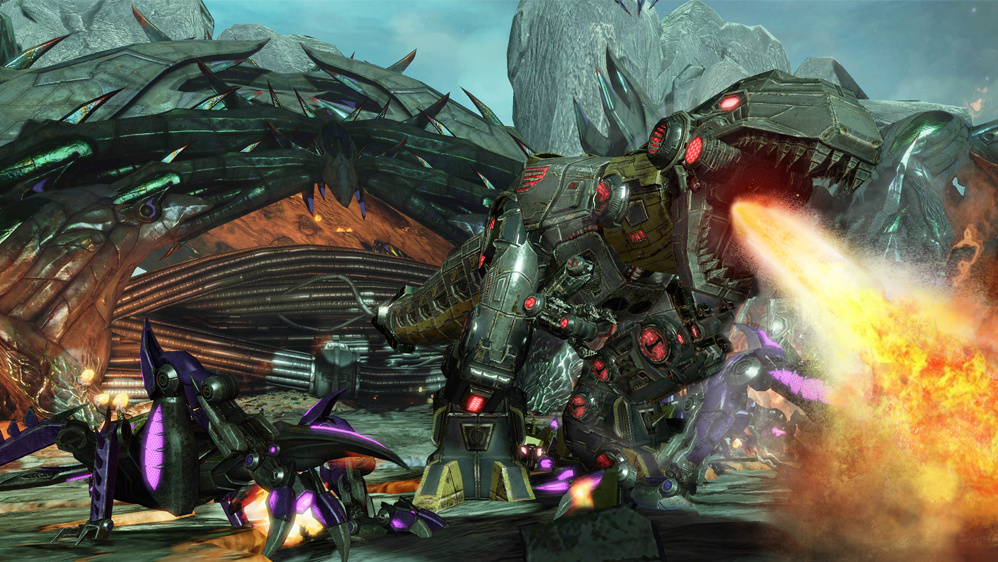 Portierung: Transformers: Fall of Cybertron für PS4 und XBO
