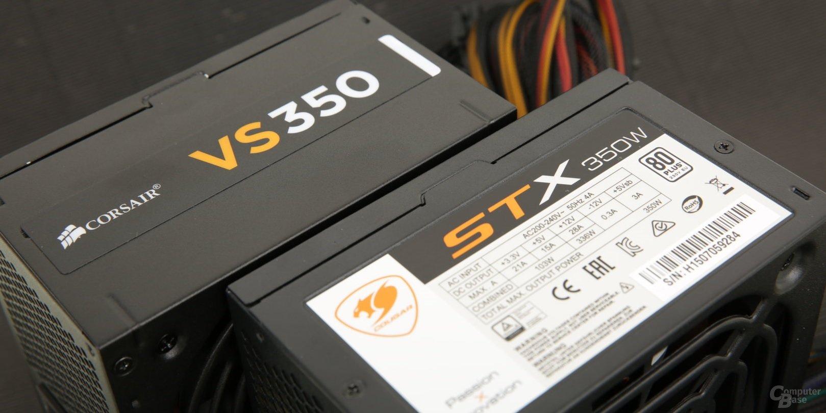 350-Watt-Netzteile im Test