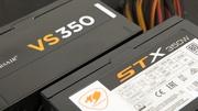 350-Watt-Netzteile im Test: Corsair VS350 2.0 und Cougar STX 350 für unter 40 Euro