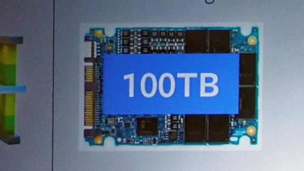 Toshiba: QLC-Flash und Die-Stacking mit TSV für 100-TB-SSDs