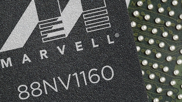 Marvell 88NV1160: 90 mm² kleiner SSD-Controller mit 4 Kanälen und NVMe 1.3
