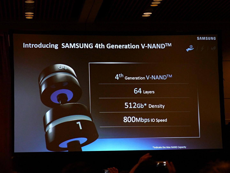 Samsung V-NAND Generation 4