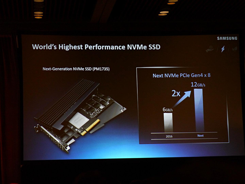 Samsung PM1735 mit PCIe 4.0
