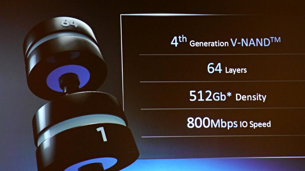 Samsung: V-NAND Gen 4 verdoppelt Speicher von SSDs