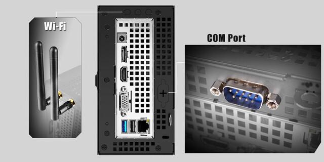 Optionale Ausstattung des DeskMini 110