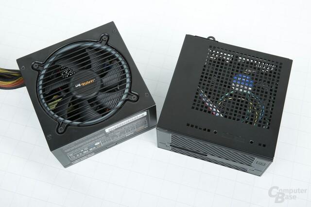 ASRock DeskMini 110 im Vergleich mit einem Netzteil