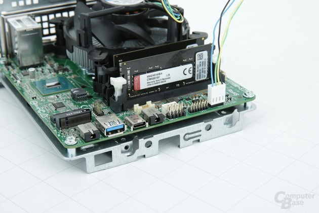 ASRock DeskMini 110: Speicherbänke und Kühler