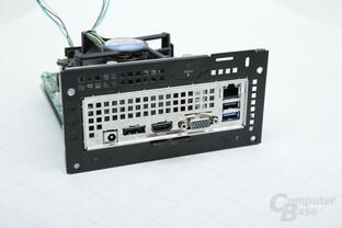 ASRock DeskMini 110: I/O-Panel