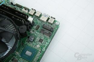 ASRock DeskMini 110: Chipsatz, WiFi- und M.2-Anschluss