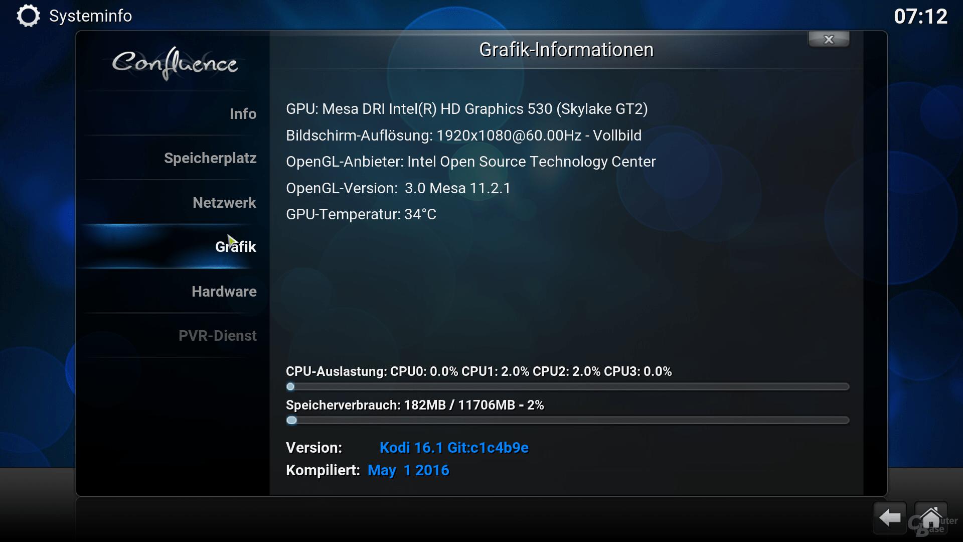 OpenELEC mit Core i5-6500 und HD 530