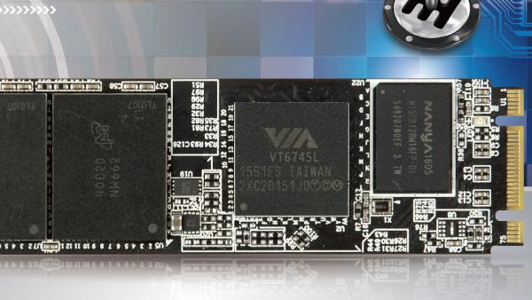 SSDs: Günstige NVMe-Controller mit PCIe3.0x2 von VIA und Phison