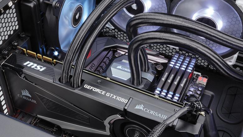 Hydro GFX GTX 1080: MSI und Corsair kühlen Pascal mit Wasser