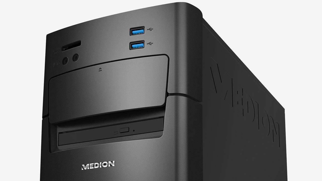 Aldi-PC: APU und SSD von AMD im Medion Akoya P4130 D