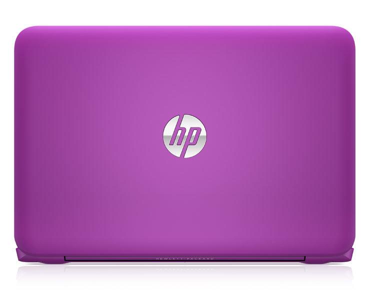HP Stream in der Farbvariante Violet Purple