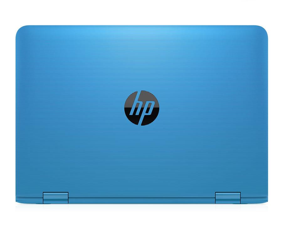 HP Stream in Aqua Blue