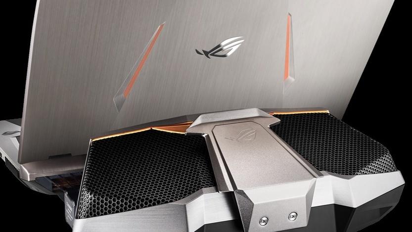 Asus ROG GX800VH: Notebook mit Wakü und zwei GTX1080 braucht 660Watt