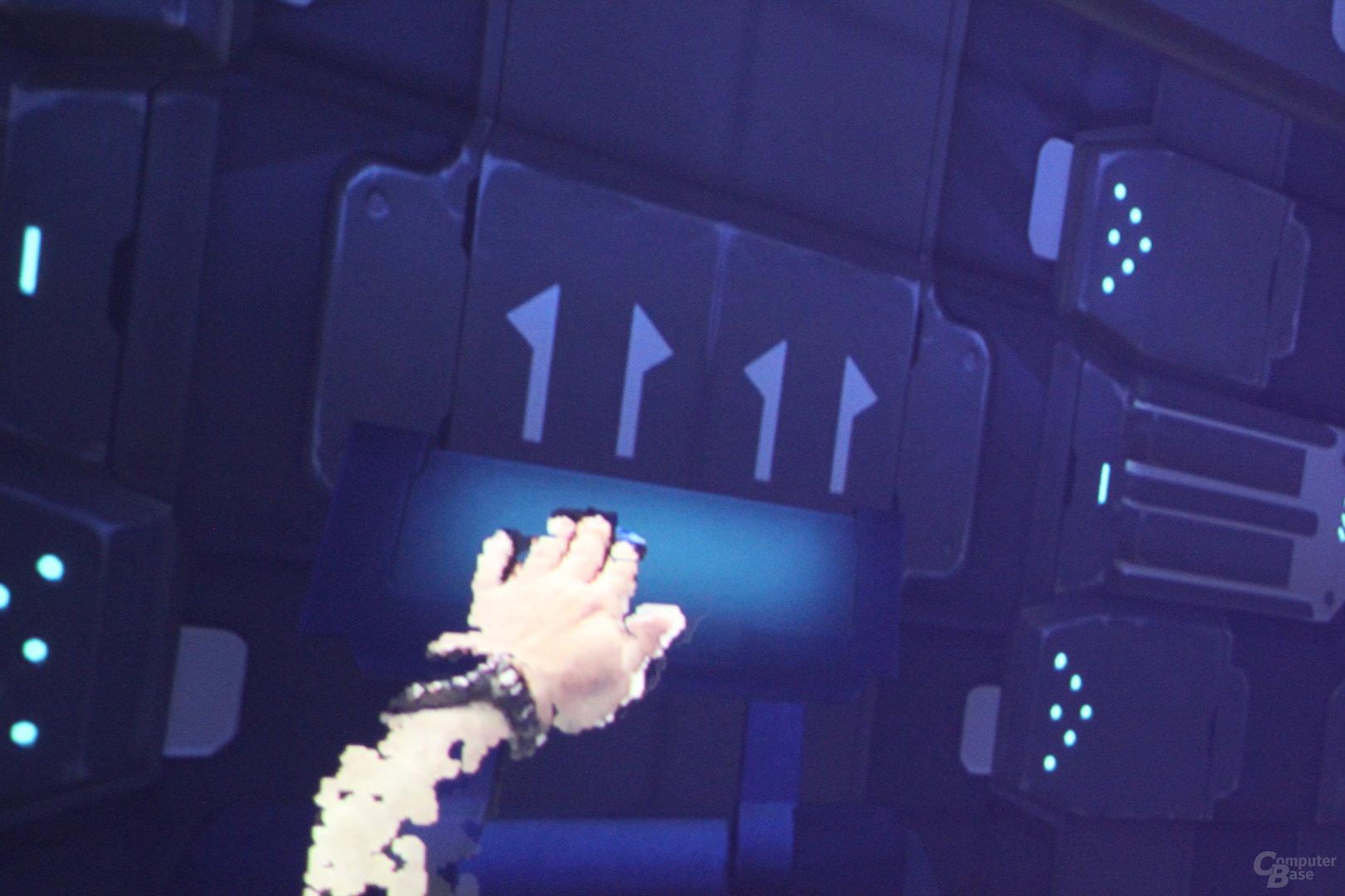 Intel Project Alloy – mit den eigenen Händen arbeiten