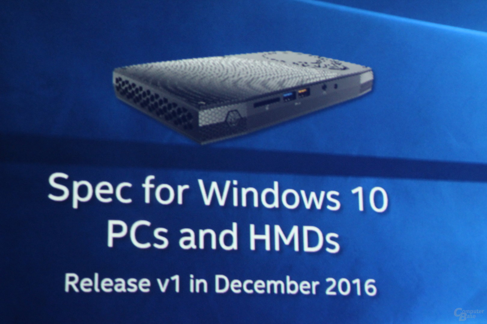 Merged Reality Specs für Windows-PCs ab Ende 2016