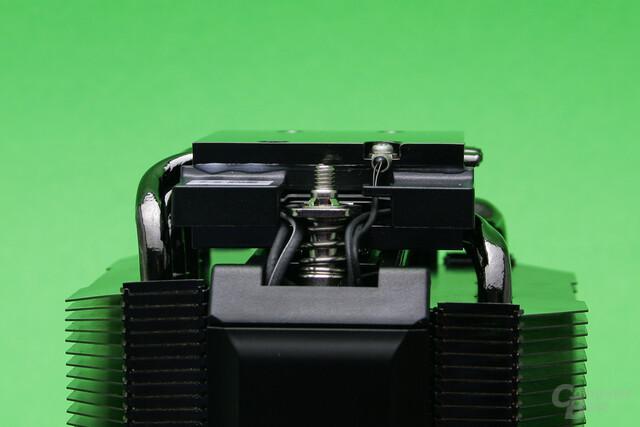 Phononic Hex 2.0: Vier Heatpipes befinden sich auf jeder Seite des Peltier-Elements