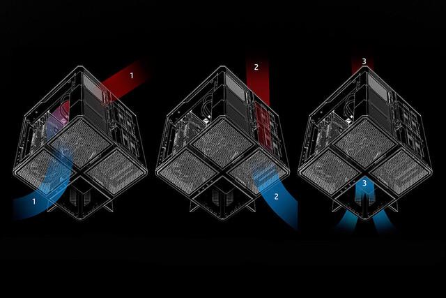 Kühlkonzept des Omen X