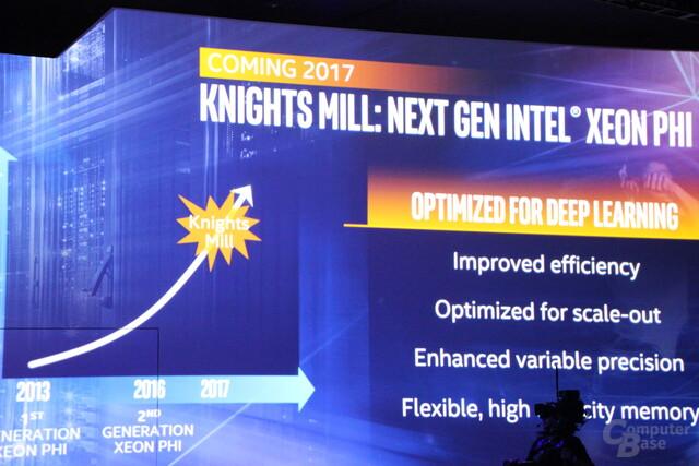 Intel Knights Mill als Zwischenschritt zu Knights Hill
