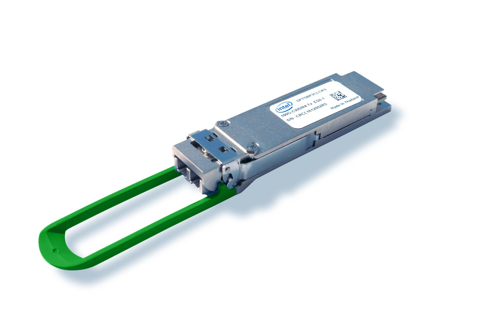 Intel Silicon Photonics 100G CWDM4 QSFP28 Optical Transceiver