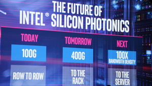 Intel Silicon Photonics: Heute 100, morgen 400 Gbit/s via Transceiver mit Laser