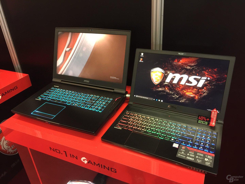 MSI GT73VR & GS63VR