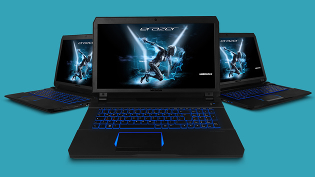 Medion Erazer X7849: Gaming-Notebook mit Nvidia Pascal, USB Typ C und G-Sync