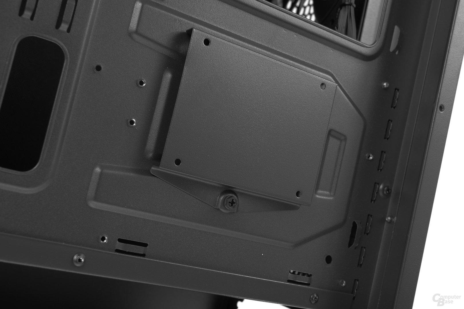 """Aerocool DS 230 – An der Rückseite kann eine 2,5""""-SSD montiert werden"""