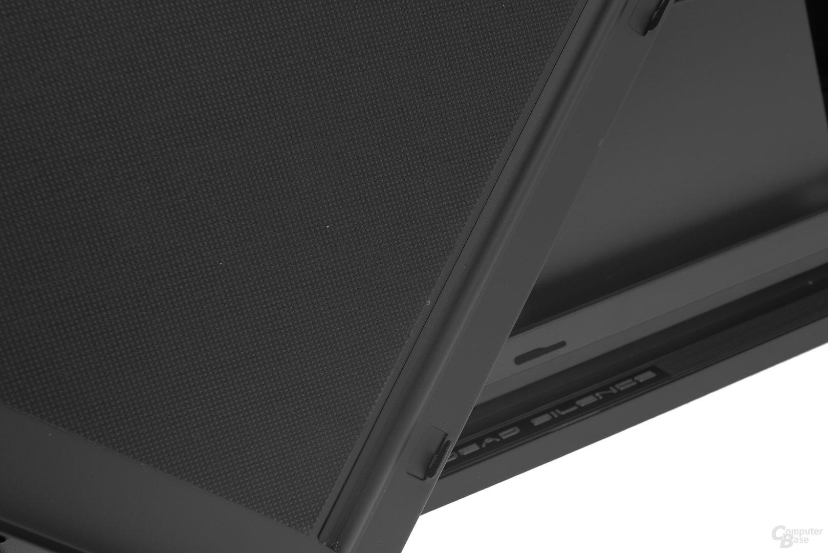 Aerocool DS 230 – Beide Seitenteile sind schallgedämmt