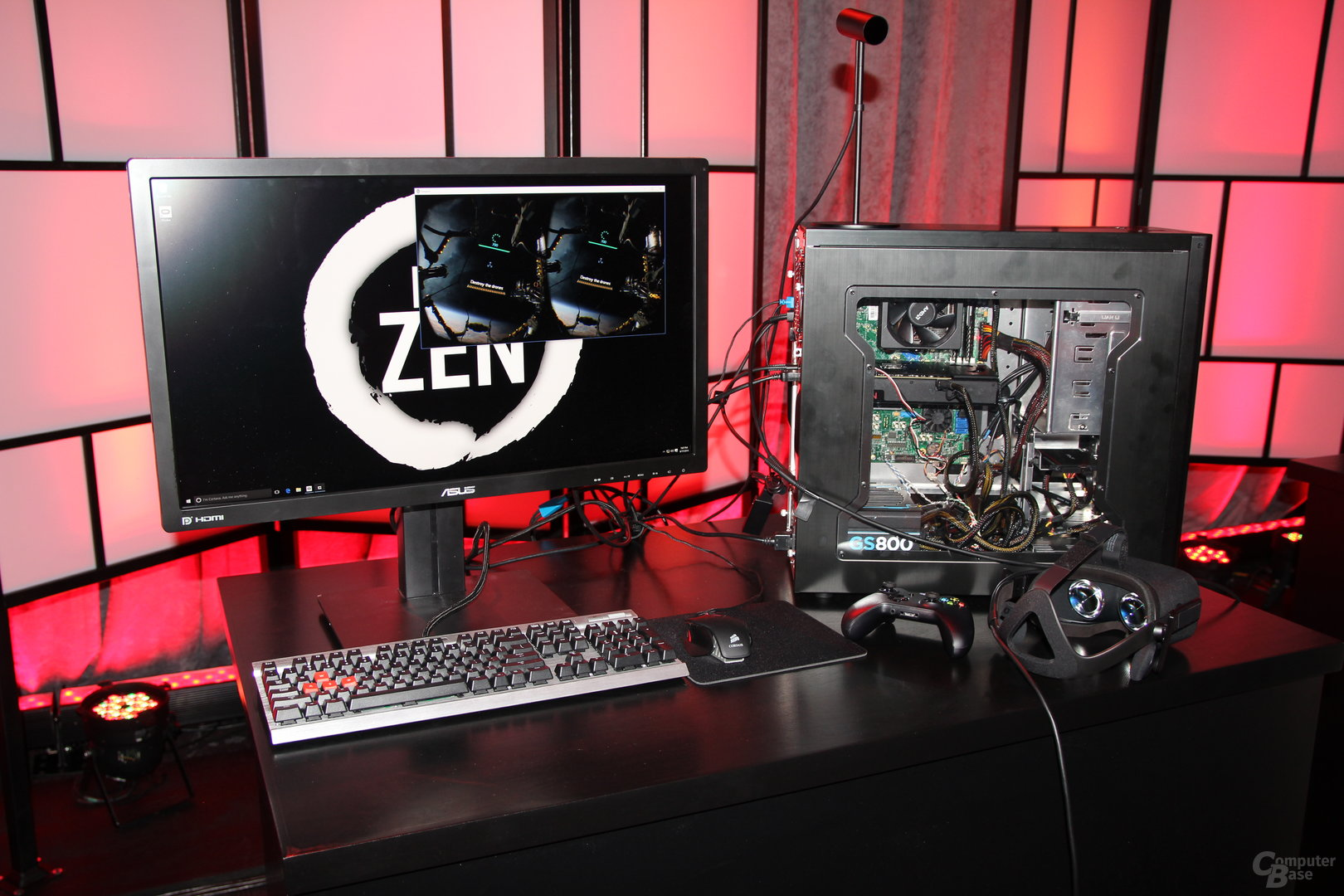 Zen-Demo von AMD (17. August 2016)
