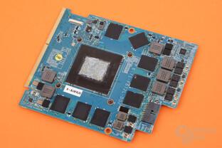 Das MXM-Modul mit mobiler GeForce GTX 1070