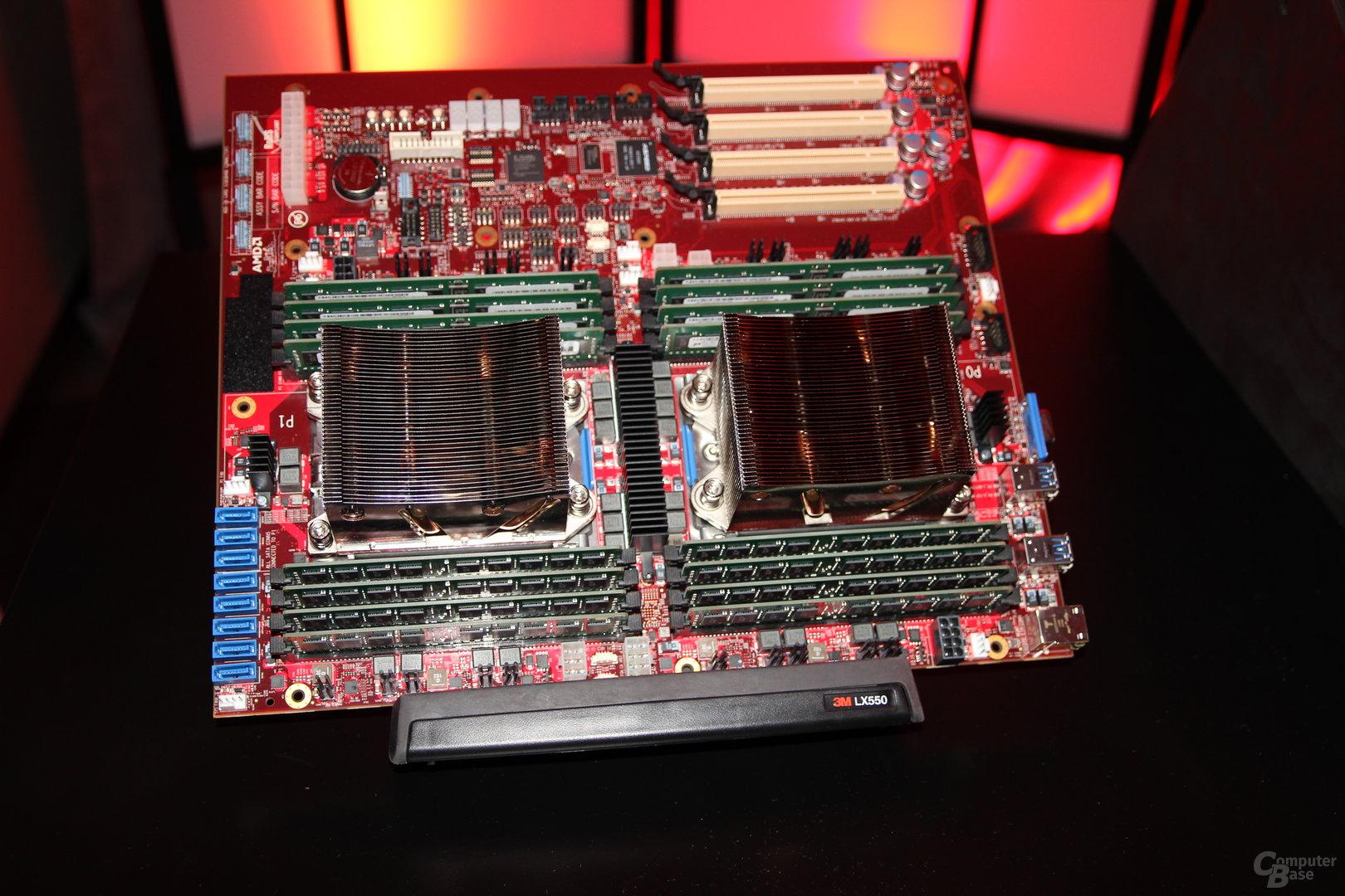 AMD Naples als Server-Chip mit 32 Kernen