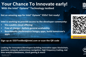 Optane Technology Cloud Testbed