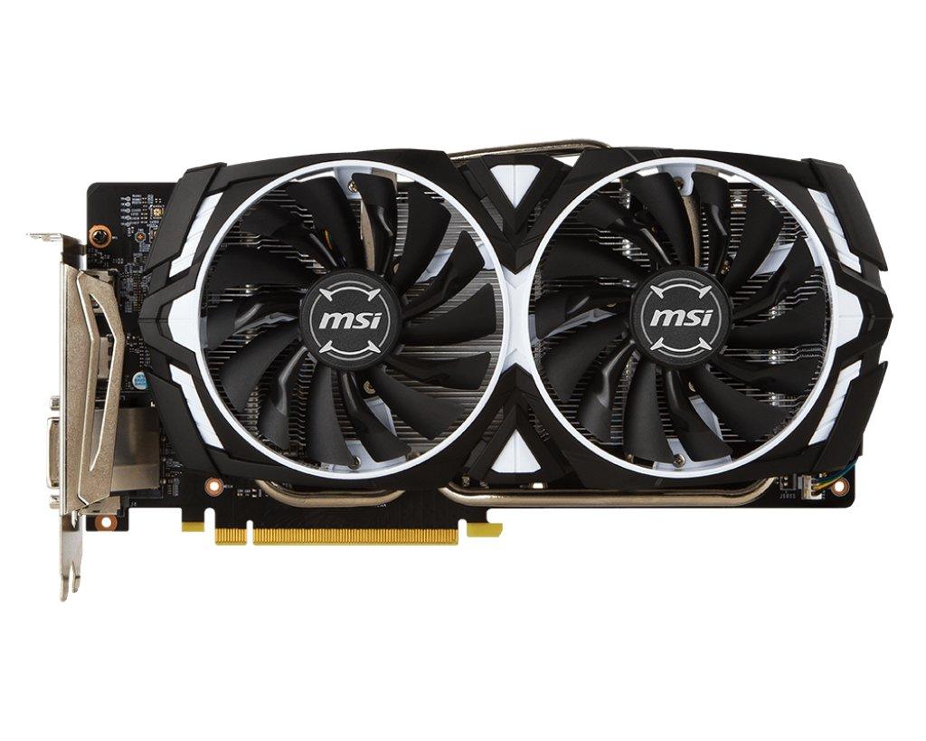 MSI GeForce GTX 1060 ARMOR OC 3G V1