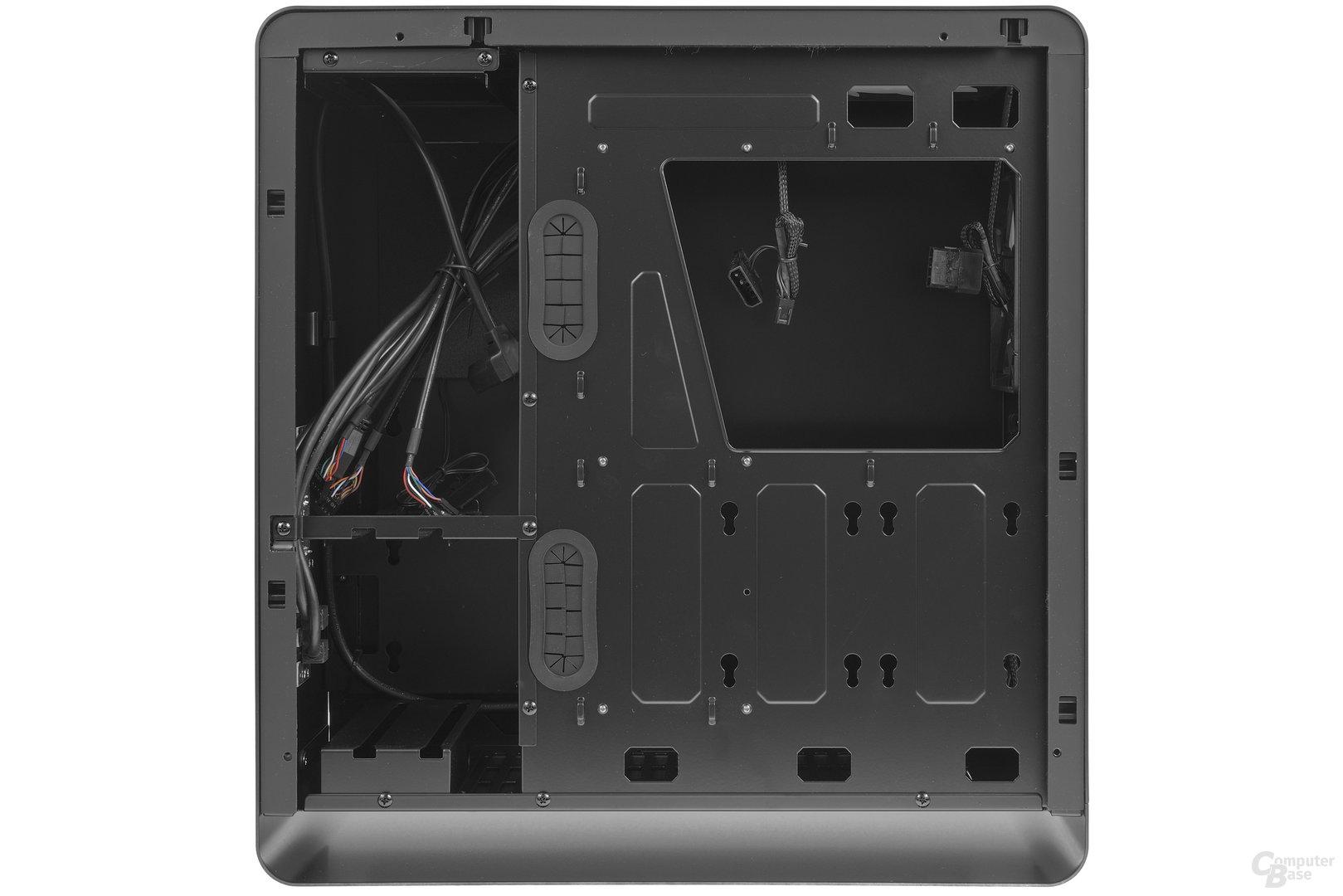 Jonsbo UMX4 – Innenraumansicht Rückseite