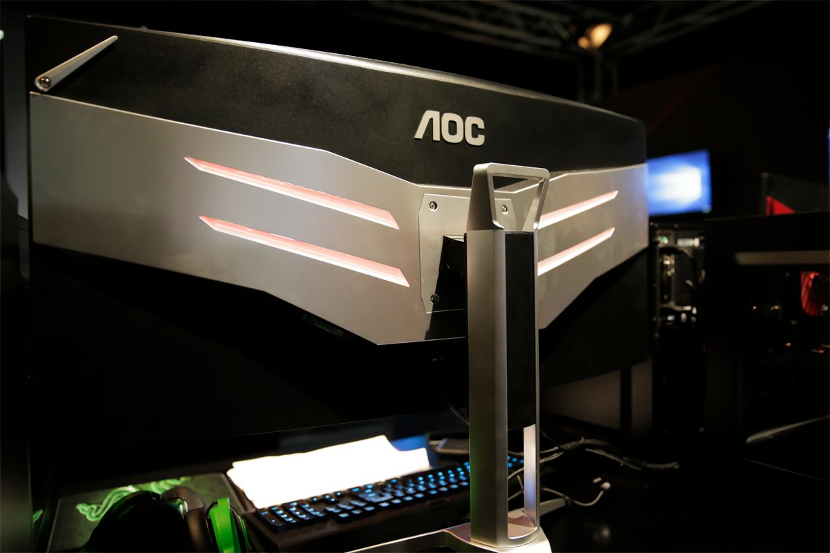 Curved-Display von AOC