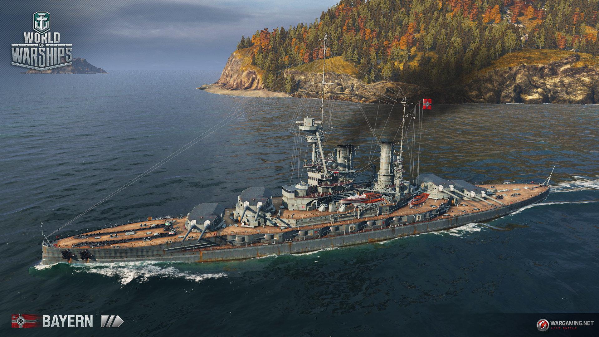 World of Warships – Deutsche Flotte