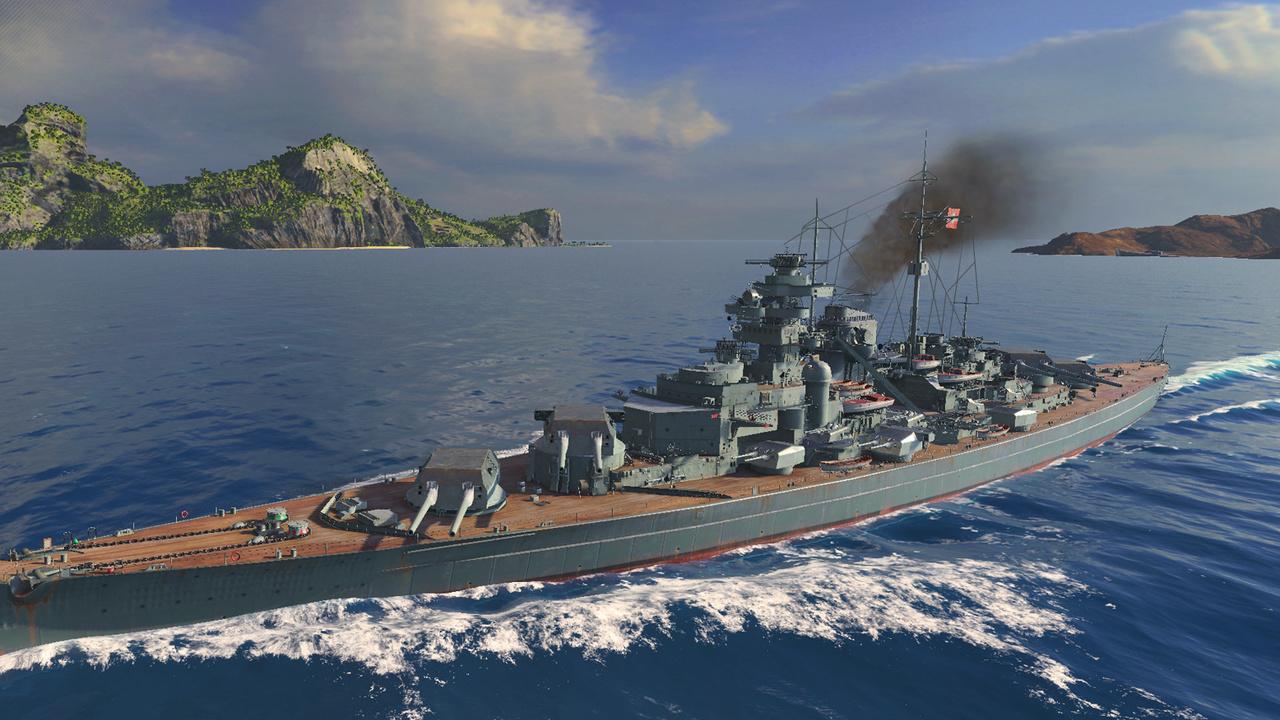 World of Warships: Deutsche Schlachtschiffe Bismarck und Tirpitz spielbar