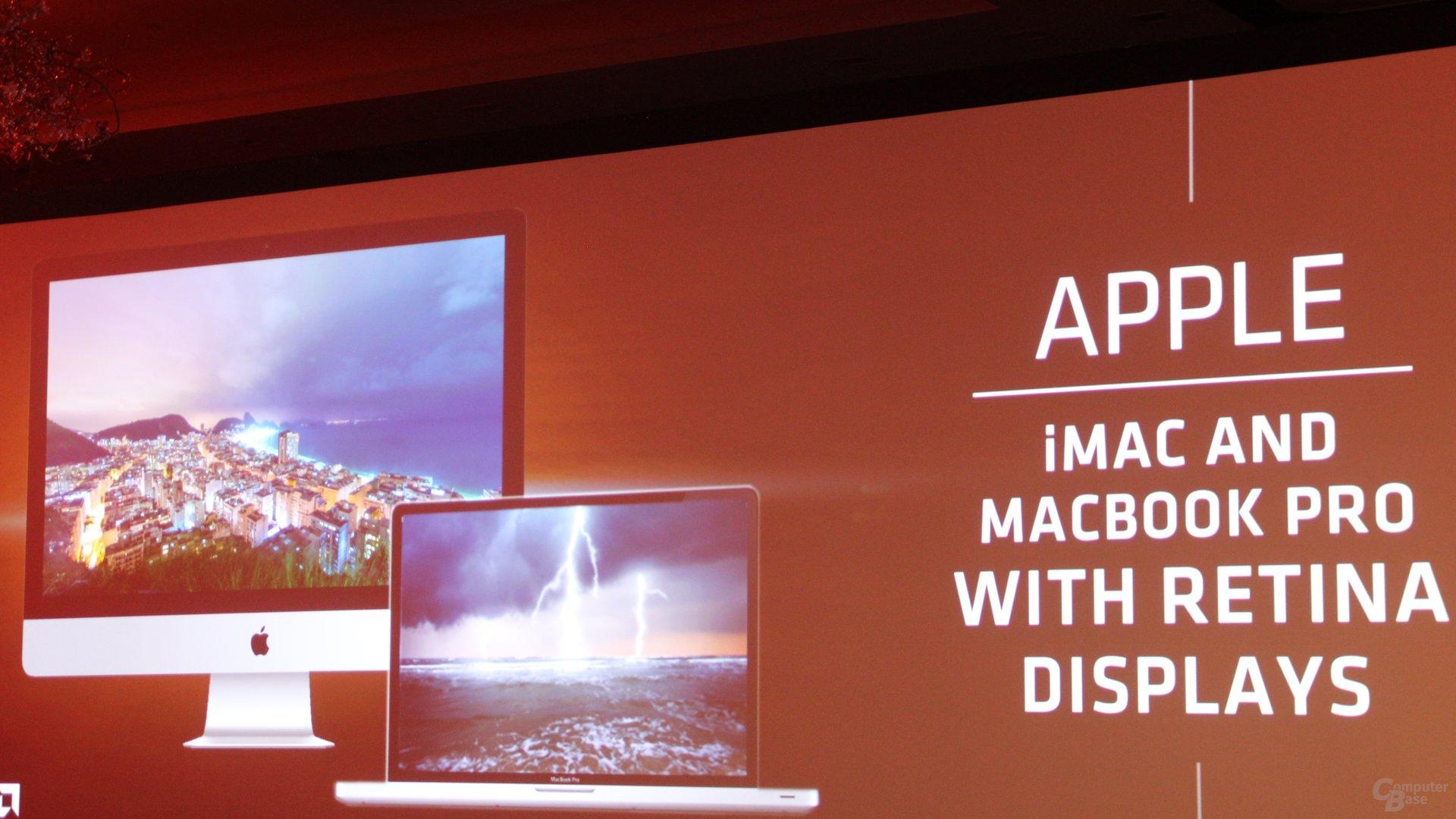 AMD-Grafik in Apple-Produkten