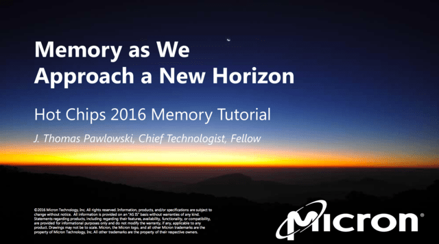 Micron zu Hot Chips 28