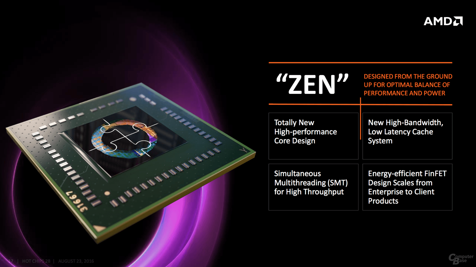 AMD Zen: Architekturdetails zu Hot Chips 28