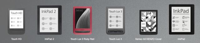 So groß ist das InkPad 2 mit 8 Zoll im Vergleich zu 6-Zoll-Geräten