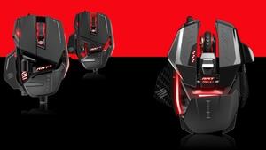 """Gaming-Mäuse: Mad Catz erneuert """"R.A.T.""""-Produktreihe"""