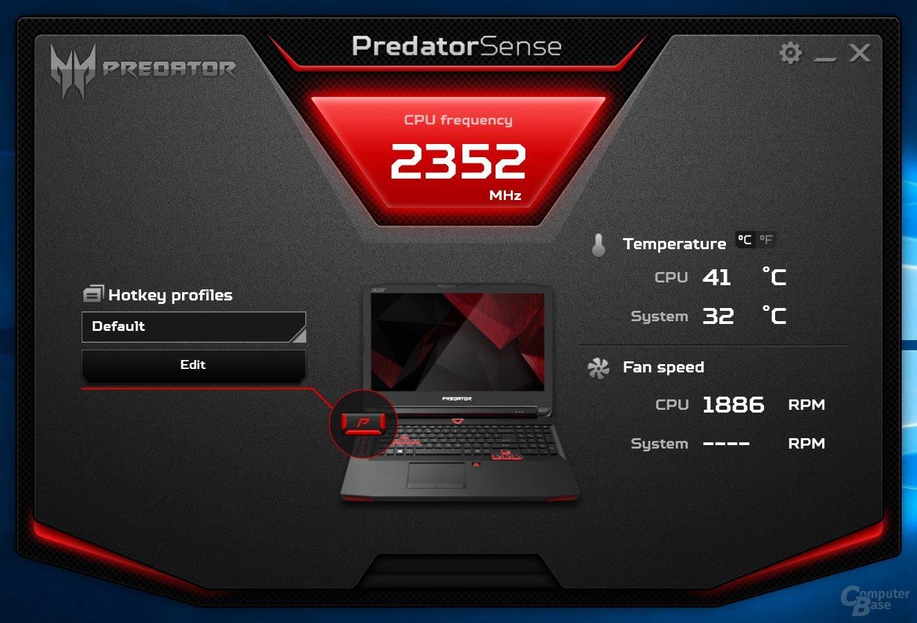 Acer Predator Sense – Übersicht