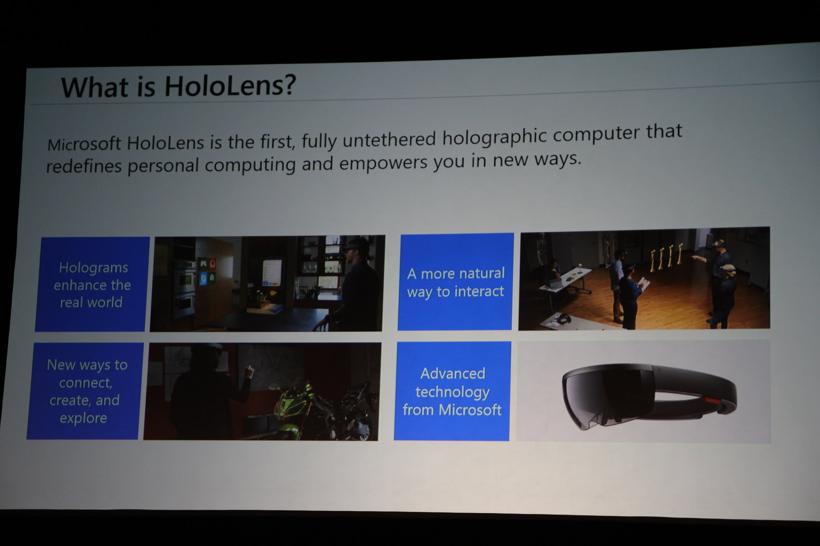 Microsoft HoloLens zu Hot Chips 28